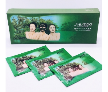 Shiseido Fine Toiletay угольная маска для лица Шисейдо 15 гр набор 20 шт