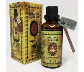 Тайское масло Розы и Оливы Herbal Rose Olive Oil Madame Heng 50 мл