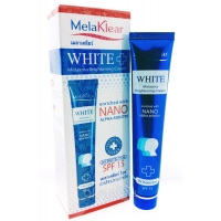 MelaKlear White nano отбеливающий комплекс крем+пенка