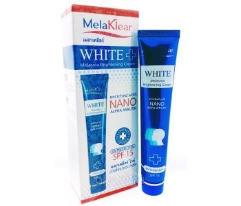 MelaKlear White nano отбеливающий комплекс крем+пенка – отзывы