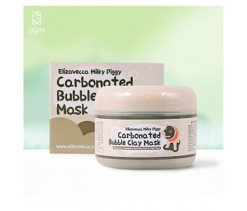 Пузырьковая маска уголь, белая глина, глубокое очищение Carbonated Babble Clay 100 гр