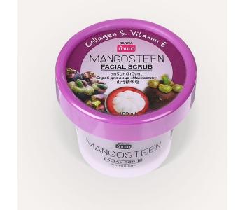 Mangosteen facial scrub скраб с мангостином для лица и декольте 100 мл