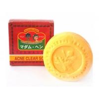 Мыло натуральное от акне мадам Хенг Acne Clear Soap для умывания