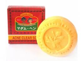 Тайское натуральное мыло от акне мадам Хенг для умывания для ребенка и взрослого