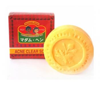 Мыло натуральное  от акне мадам Хенг Acne Clear Soap