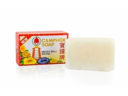 Недорогое мыло из Таиланда на основе кокосового масла и камфоры Мерри Белл Camphor soap 50 гр