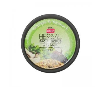 Facial Scrub Herbal скраб с коллагеном для лица 100 мл