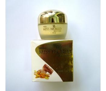 Крем для сухой и чувствительной кожи лица Miss World Mistine 35 гр