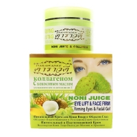 Noni Juice Eye Lift & Face Firm крем для лица и век с коллагеном и золотом 100 гр