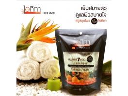 Натуральное тайское травяное мыло Мочалка Supaporn 70 гр
