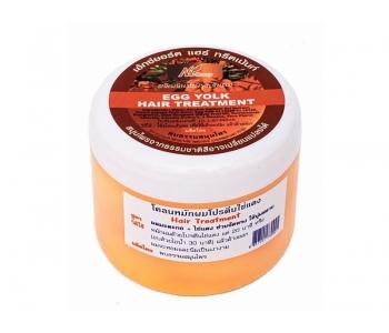 Маска для волос папайя и яичный желток Egg Yolk Hair Treatment 300 гр