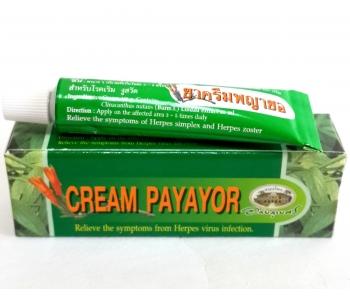 Cream Payayor бактерицидный крем из Тайланда от герпеса 10 гр