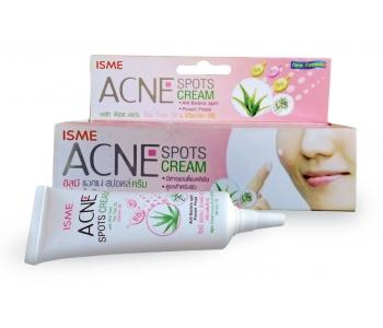 Isme Acne Spots cream крем от прыщей и угревой сыпи 10 гр – полезные свойства