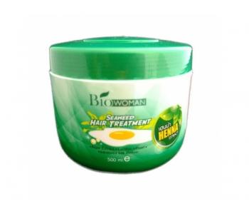 Маска с яйцом для безжизненных волос Bio Women 500 гр