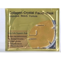Коллагеновая маска для лица от морщин Collagen Crystal Facial Mask
