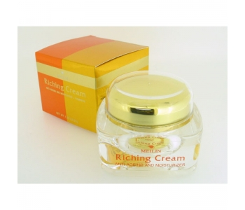 Крем для лица против увядания кожи Meilin Riching Cream 17 гр
