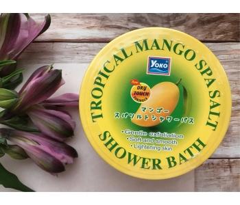 Скраб для тела с манго Yoko Tropical Mango Spa Salt 240 гр – инструкция по применению