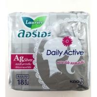 Женские ежедневные прокладки с ионами серебра Laurier Daily Active 18 шт