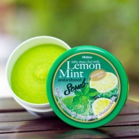 Скраб для тела с солью Мохито Lemon Mint scrub Mistine 180 гр