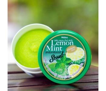 Скраб для тела с морской солью Мохито Lemon Mint scrub Mistine 180 гр – отзывы