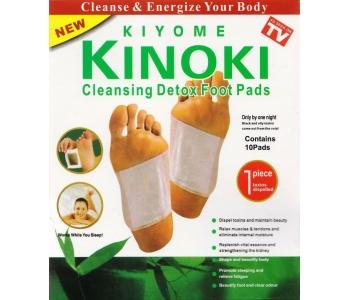 Пластырь Киноки детокс для ног Kinoki Detox 10 шт – инструкция по применению