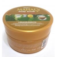 Травяной осветляющий скраб для тела Mahad Mistine 200 гр