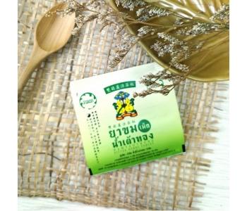 Тайские таблетки от простуды на травах Namtaothong: Bitter herbs tablet 4 шт