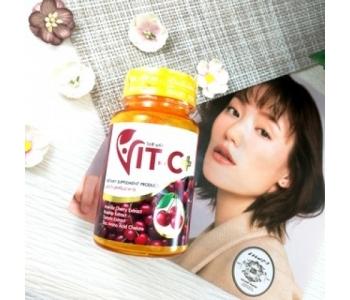 Витамин C в капсулах Ацерола вишня Acerola cherry the Nature 1000 мг 30 шт