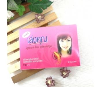 Гормональные капсулы фитоэстрогены для женщин Kanya Leng you формула №1 Panapat 30 шт