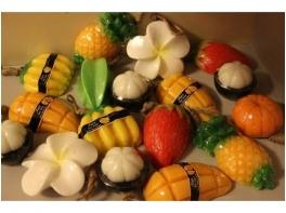 Тайское мыло фигурное в виде фигурок фруктов Siam Herb Extra Virgin 100 гр