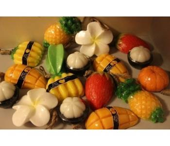 Фигурное мыло в виде фруктов Siam Herb Extra Virgin 100 гр