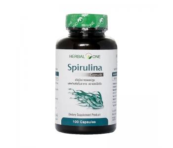 Spirulina Capsule Спирулина в капсулах для похудения 100 шт
