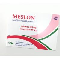 Таблетки от варикоза Meslon 10 шт