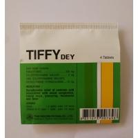 Tiffy Dey таблетки от простуды Тиффи Дей 4 шт