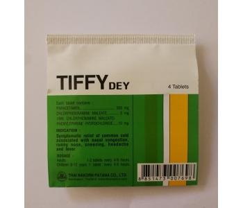 Tiffy Dey таблетки от простуды Тиффи Дей 4 шт – инструкция по применению