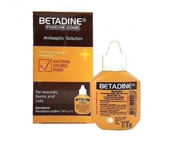 Антисептик с йодом Бетадин (Повидон) Betadine Antiseptic Solution 15 мл