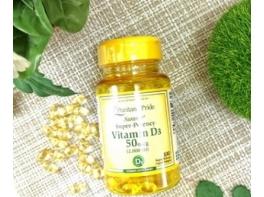 Витамин D3 солнца Premium 1000 ME 200 капсул