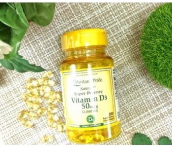 Витамин Д3 солнца D3 Premium 2000 ME, 50 мкг 100 капсул