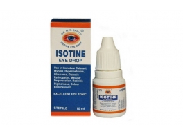 Isotine eye drop глазные капли Айсотин (Исотин) 10 мл