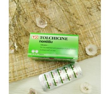 Колхицин лекарство от подагры Colcine 100 шт
