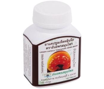Lingzhi Capsule гриб Линчжи (гриб Рейши) в капсулах 100 шт