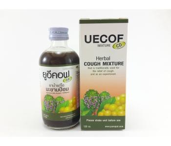 Тайская микстура от кашля для взрослых Uecof Cough Mixture 120 мл