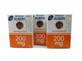 Препарат от глистов широкого спектра Alben 250 мг 3 шт