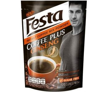 Кофе растворимый с женьшенем без сахара Festa 10 штук