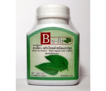Be-Fit Green Tea Extract Peper Nigrum Linn Capsule капсулы зеленого чая для похудения Be-Fit 60 шт