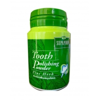Тайский зубной порошок с травами Supaporn 40 гр
