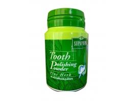 Тайский зубной порошок с травами удаляющий налет Supaporn 40 гр