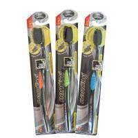 Черная зубная щетка Бамбук и Уголь 1 шт 20 гр