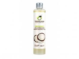 Кокосовое тайское масло пищевое Tropicana virgin coconut oil 100 мл