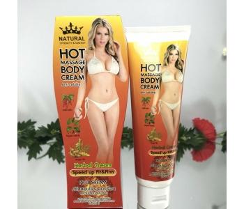 Hot Massage Body Cream антицеллюлитный крем с имбирем 120 мл – инструкция по применению